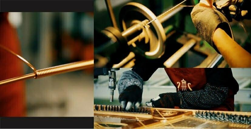 通用:手工绕铜琴弦