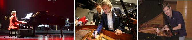 钢琴演奏家使用诺英德曼