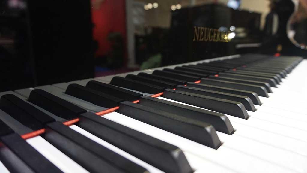 钢琴黑白键盘
