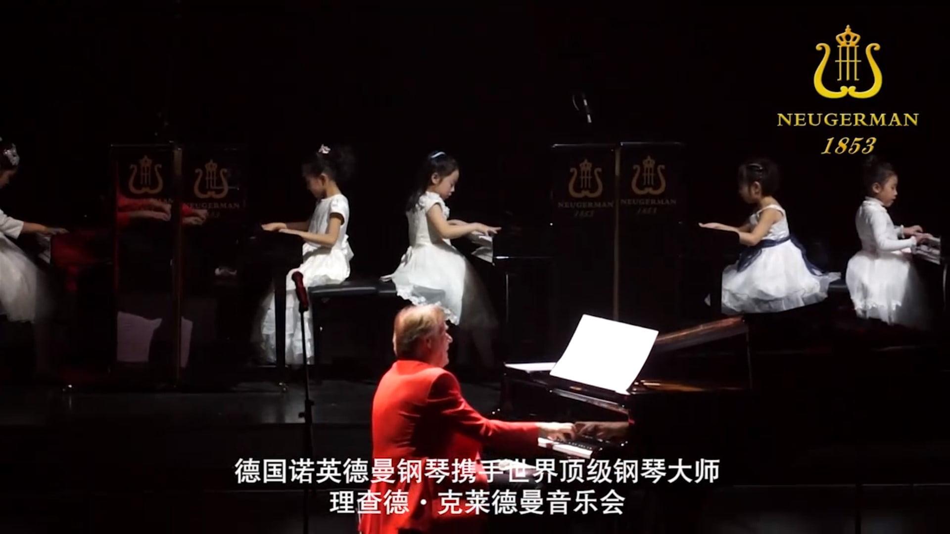 理查德·克莱德曼钢琴二重奏