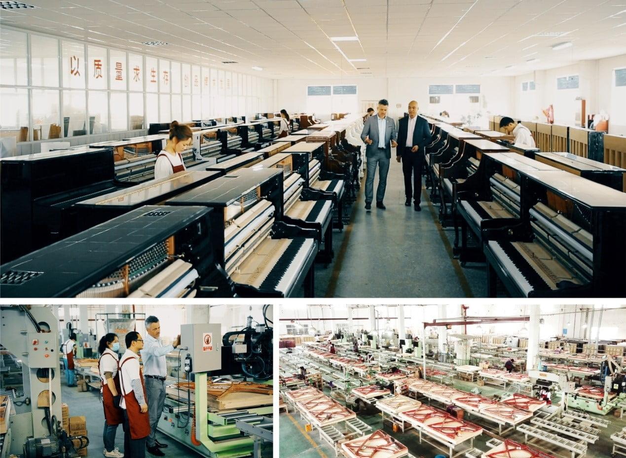 诺英德曼钢琴生产基地