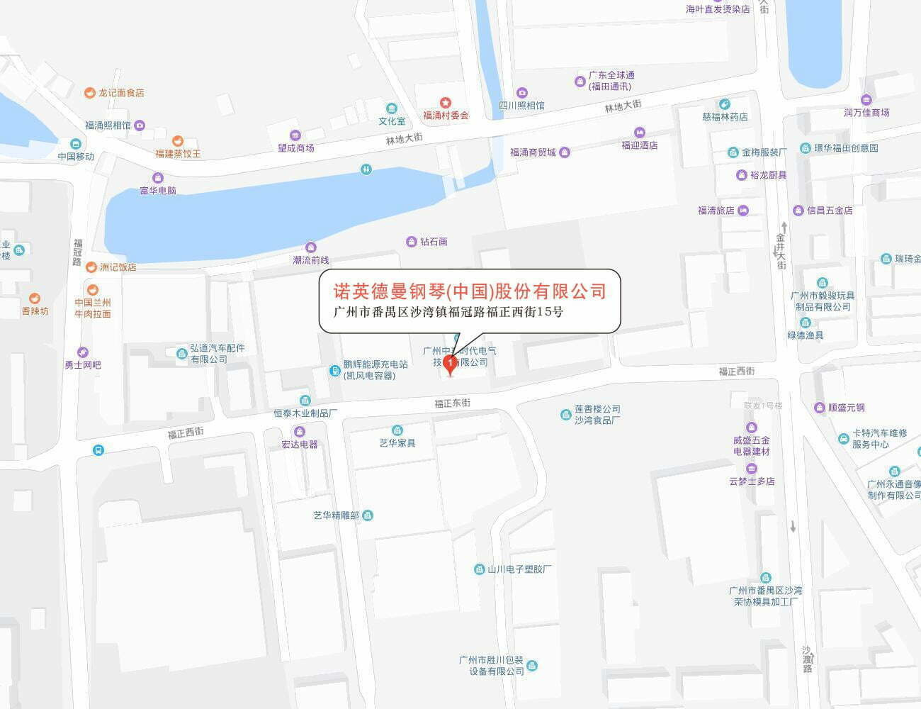 诺英德曼钢琴(中国)股份有限公司地图
