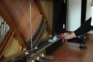 钢琴外壳的清洁