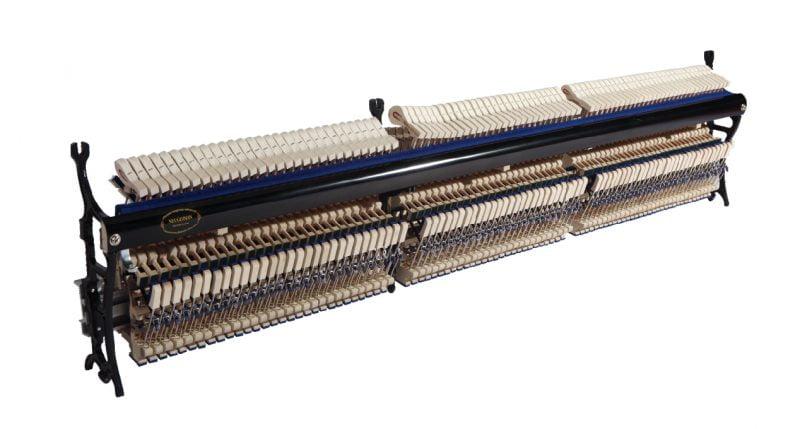 立式钢琴击弦器