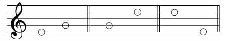 谱例6:a.线到线