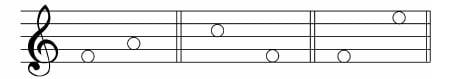 谱例6:b.间到间