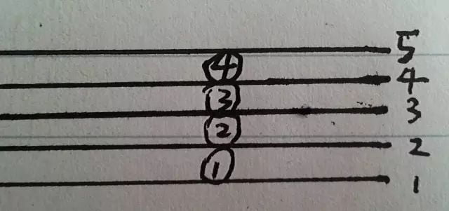 认识五线谱