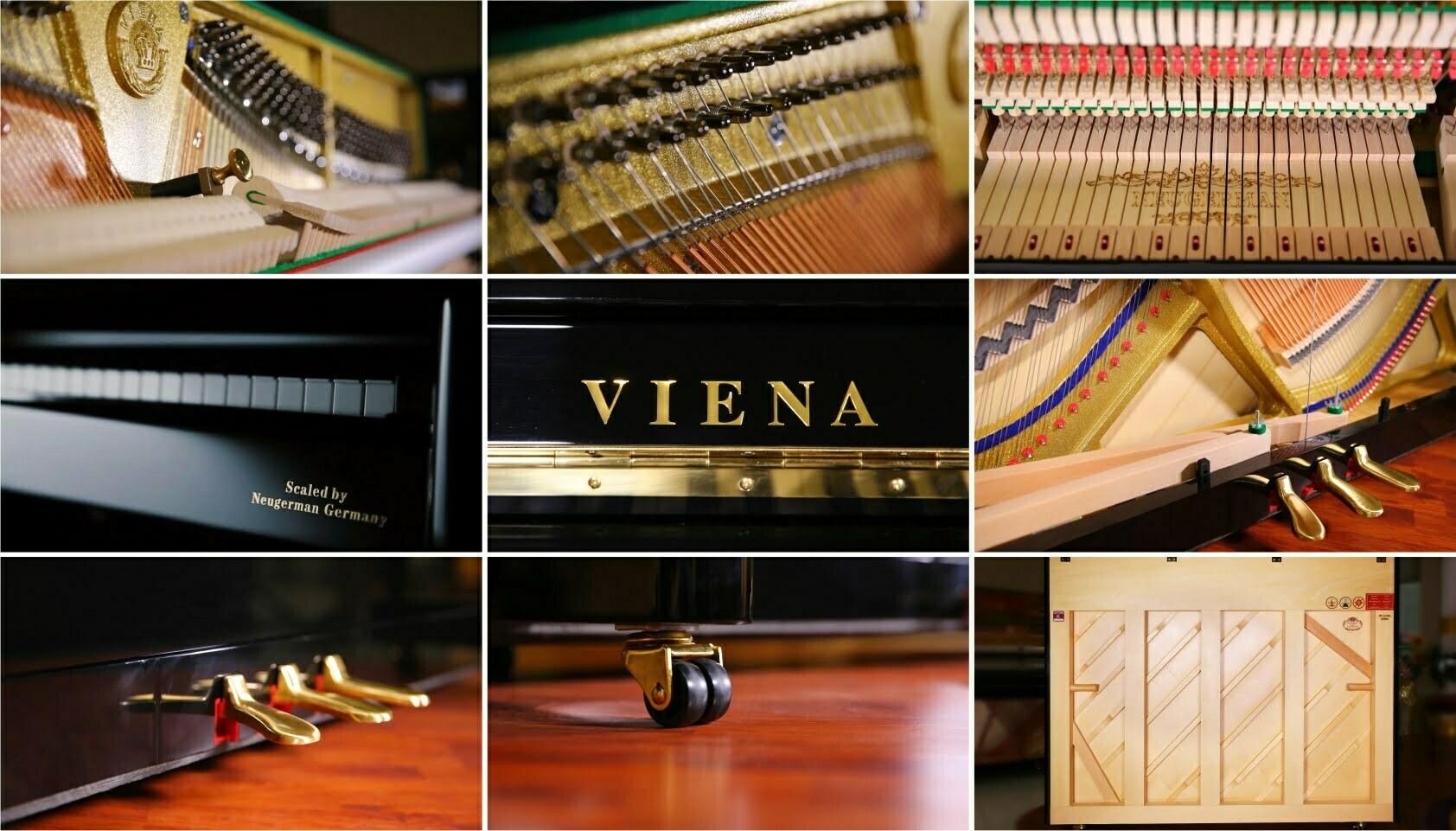 维也纳钢琴外观细节