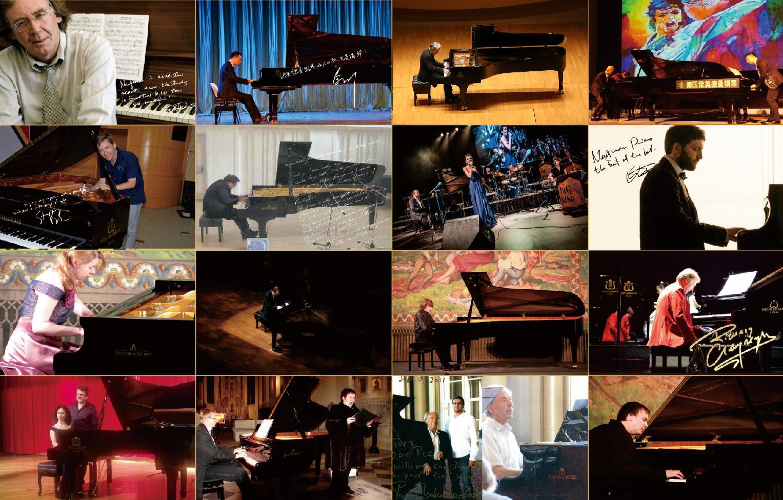 钢琴品牌深受艺术家追棒